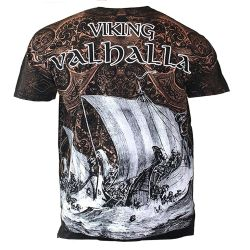 Black 'Viking Warrior' T-Shirt