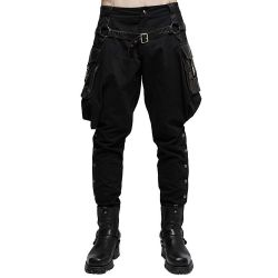 'Black Cossack' Gothic Pants