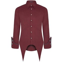 Wine Red 'Gangrel' Shirt