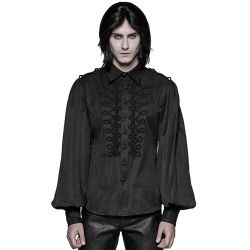 Chemise 'Ghostwood' Noire