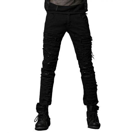 Pantalon 'Mad Max' Noir
