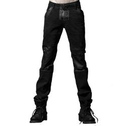 Pantalon 'Machinist' Noir