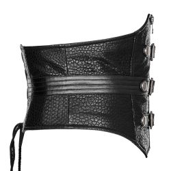 Black 'Guardian' Mens Girdle