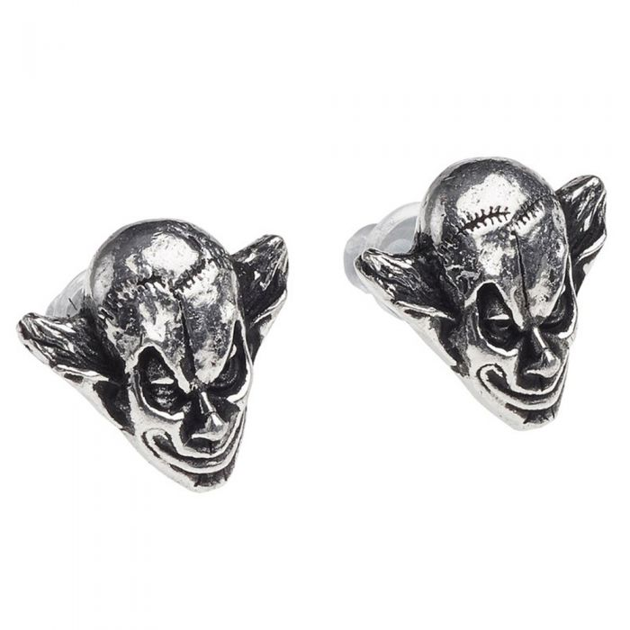 M'era Luna Evil Clown  Studs