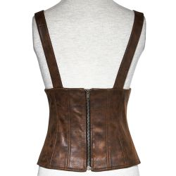 Brown Steampunk 'Dryad' Underbust