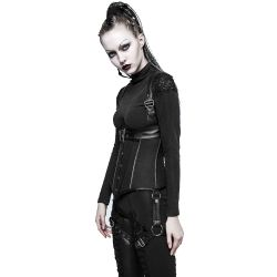 Black 'Demonia' Underbust Harness