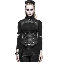 Corset 'Inquisitor' Noir