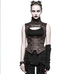 Brown 'Inquisitor' Corset
