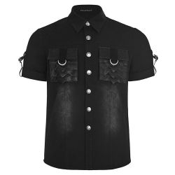 Black 'Dracarys' Short Sleeves Shirt