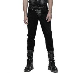 Pantalon Noir à Rayures 'Dracarys'