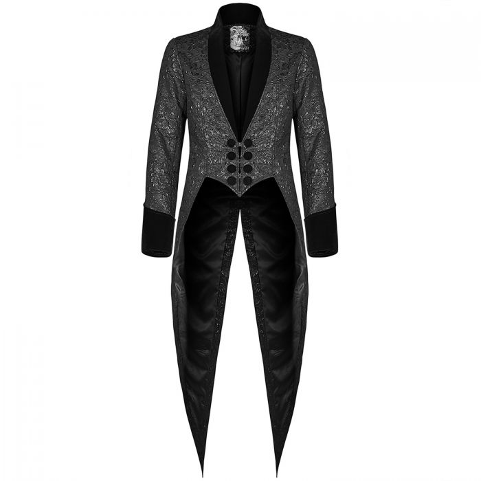 Veste Queue de Pie 'Mystic' Noire