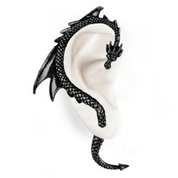 Tour d'oreille 'The Dragon's Lure Black' (oreille droite)