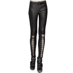 Pantalon 'Ball Jointed Doll' Noir