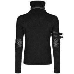 Black Long Sleeves 'Relict' Sweater