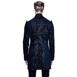 Blue Brocade 'The Lannister' Jacket