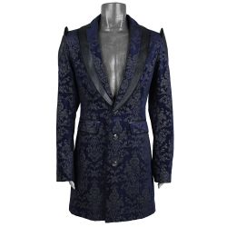 Veste en Brocart Bleu' The Lannister'