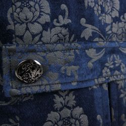 Veste 'The Lannister' en Brocart Bleu