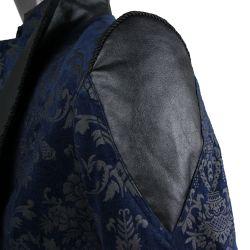 Veste en Brocart Bleu' The Lannister'