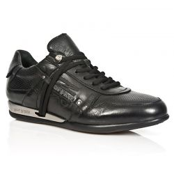 Black Nomada Leather New Rock Hybrid Sneakers