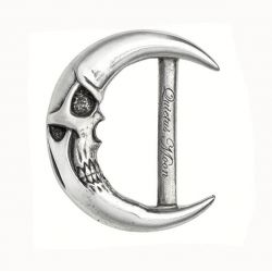 'Quietus Moon' Belt Buckle