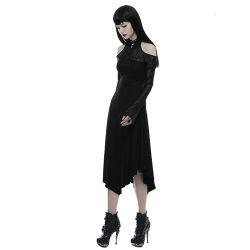 Black 'Lyra' Gothic Dress