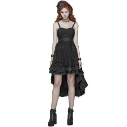 Black 'Druidess' Gothic Dress
