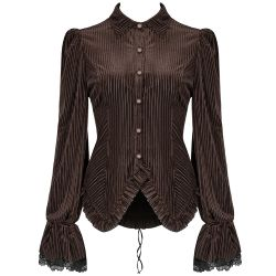Coffee 'Maeve' Blouse
