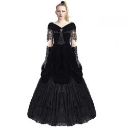 Black 'Lady de la Morte' Dress