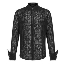 Black 'Mystic' Gothic Shirt