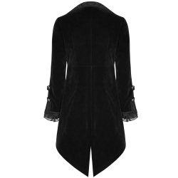 Black 'Gothic Regent' Long Jacket