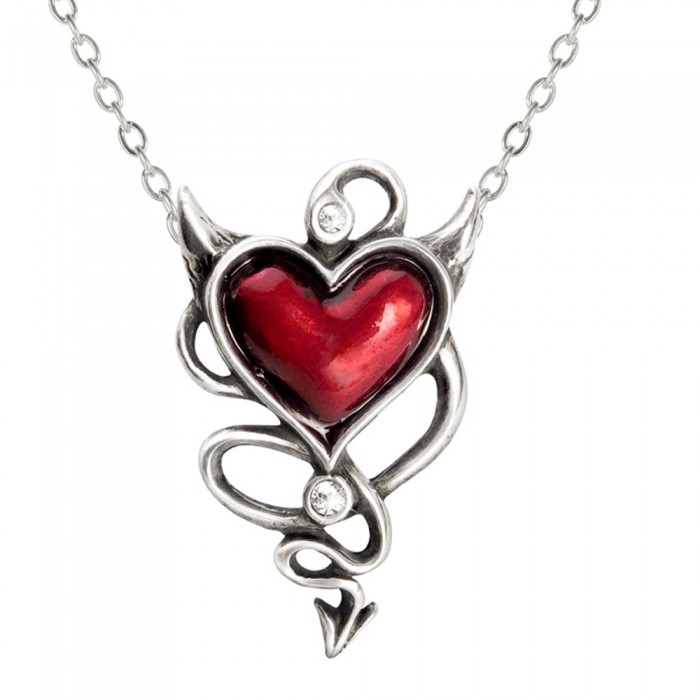 'Devil Heart' Pendant
