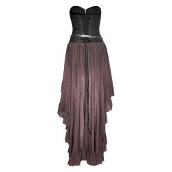 Robe Steampunk 'Dryad' Marron