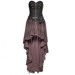 Coffee 'Dryad' Steampunk Dress