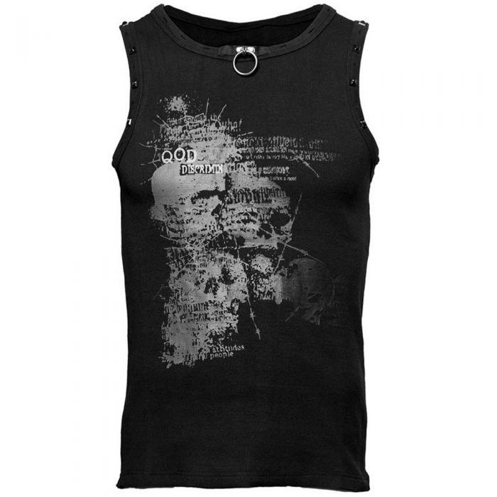 T-Shirt sans manches 'Rivet Print'