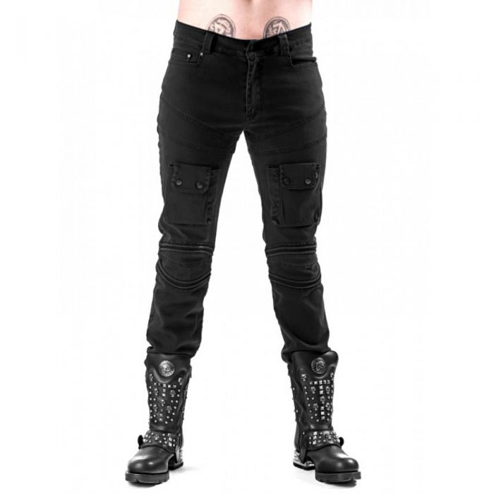 Look' 'Used 'Used Look' Pantalon Pantalon Noir Pantalon 'Used Pantalon Noir Noir Look' 'Used 7Ygf6by