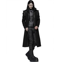 Black 'Sanctum' Men's Coat