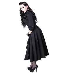 Robe Pin-Up 'Dita' Noire