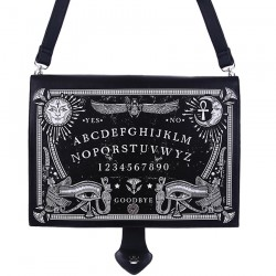 'Ouija Board Bag' Black Gothic Occult Bag