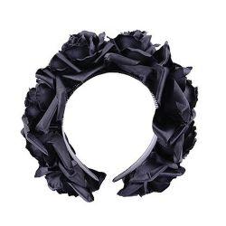 Serre-Tête 'Black Roses'