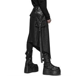 Mi-Jupe Kilt pour Hommes 'Assassin's Creed' Noire