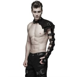 Black Shoulder Harness 'Orkus'