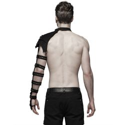 Black Shoulder Harness 'Orkus'