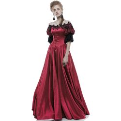 Robe Longue 'Red Ruby' Rouge