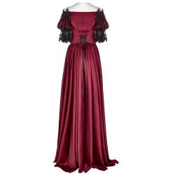 Red 'Ruby' Long Dress