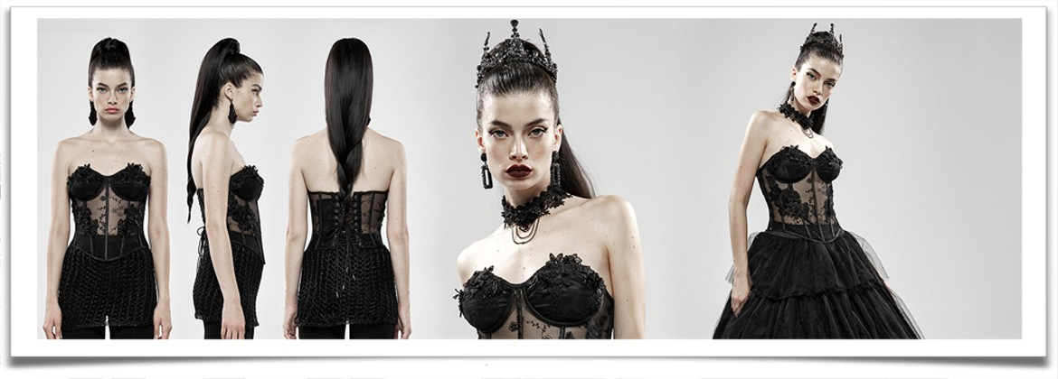 Females Corsets and Under Busts • the dark store™