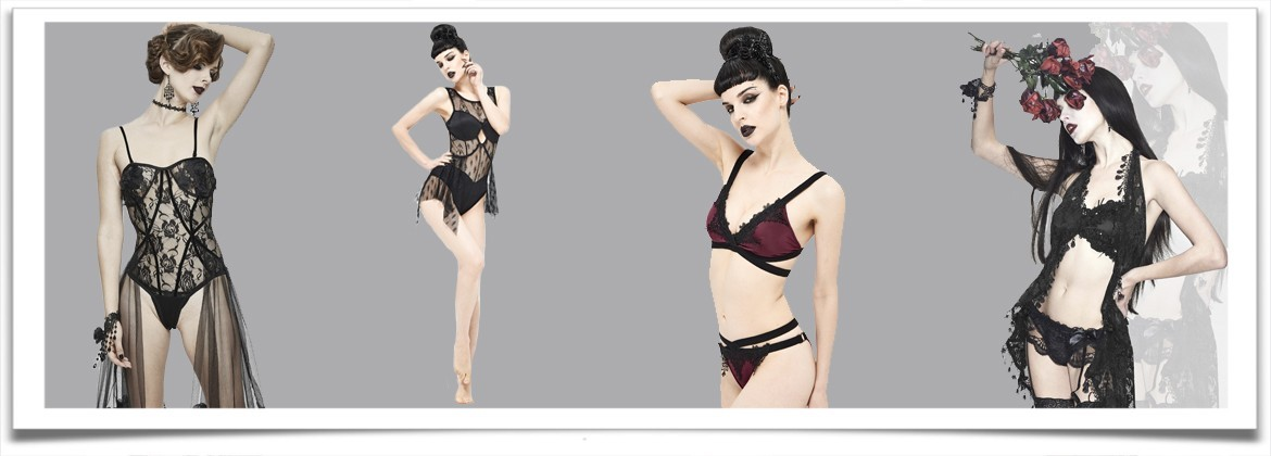 Lingerie and Swimsuit • the dark store™