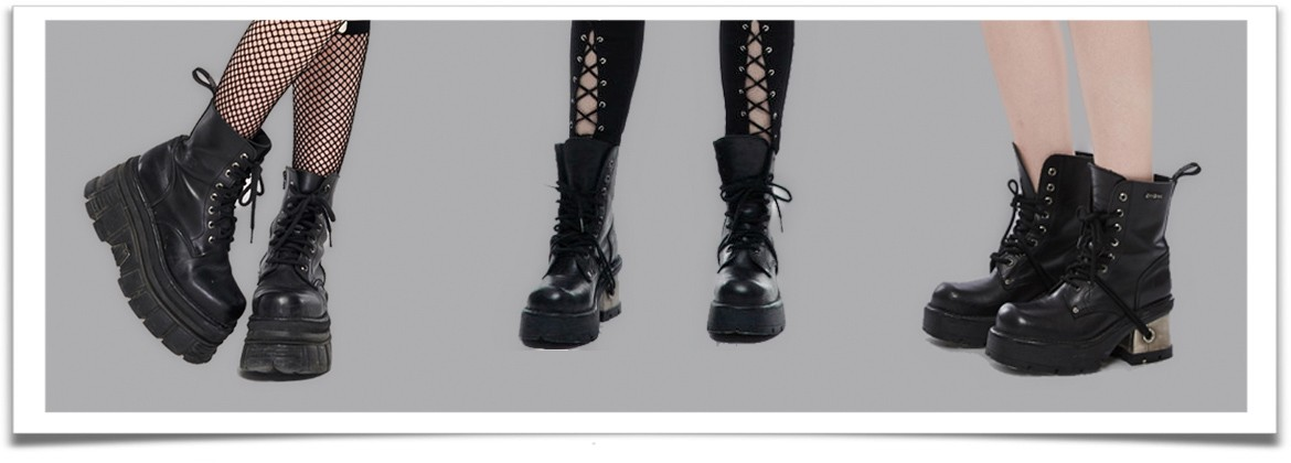 Females Ankle Boots • the dark store™